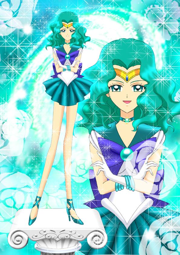 Tags: Anime, Luna Rune, Bishoujo Senshi Sailor Moon, Sailor Neptune, Kaiou Michiru, Fanart From Pixiv, Fanart, Pixiv