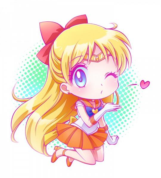 Tags: Anime, Asahi Haru, Bishoujo Senshi Sailor Moon, Aino Minako, Sailor Venus, Sailor Senshi Uniform, Tiara