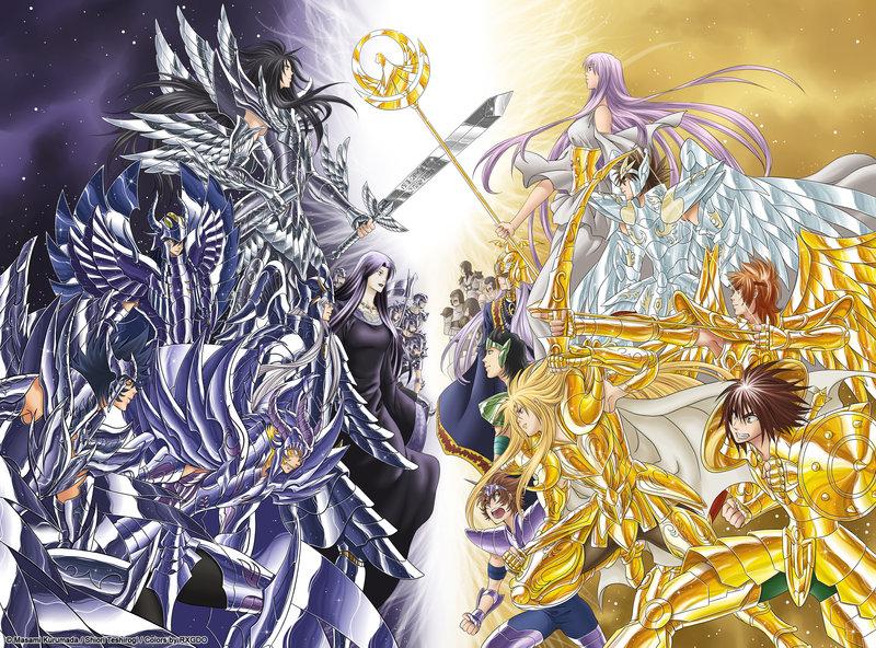 anime saint seiya the lost canvas
