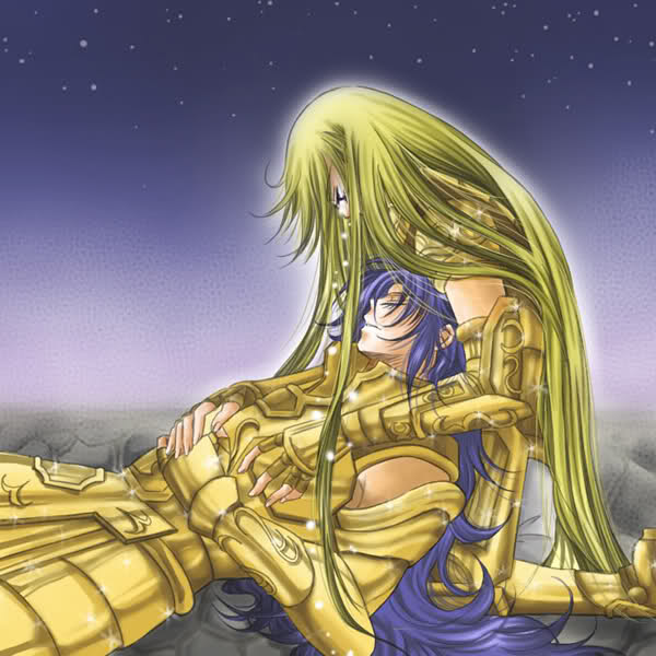Tags: Anime, Saint Seiya, Virgo Shaka, Gemini Saga, Gold Saints