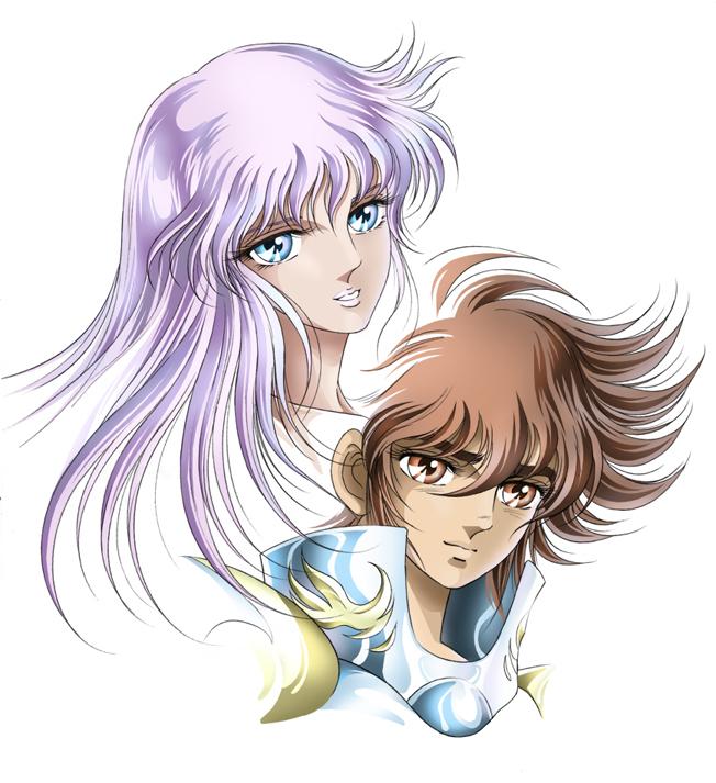 Tags: Anime, Saint Seiya, Athena Saori, Pegasus Seiya, Bronze Saints
