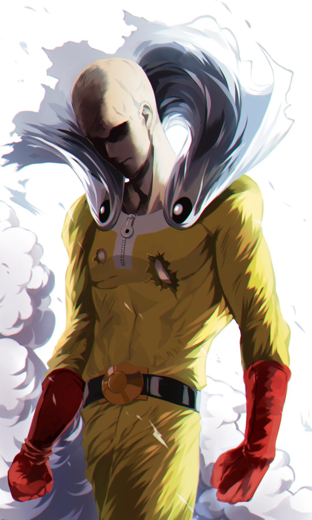 Saitama One Punch Man Zerochan Anime Image Board