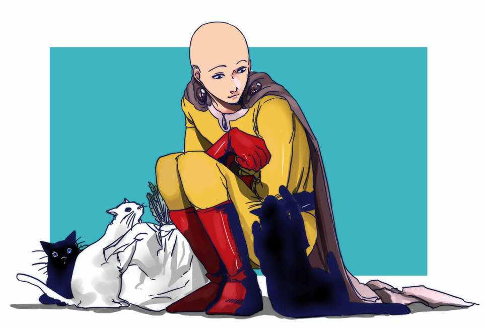 Saitama (One Punch Man) - Zerochan Anime Image Board