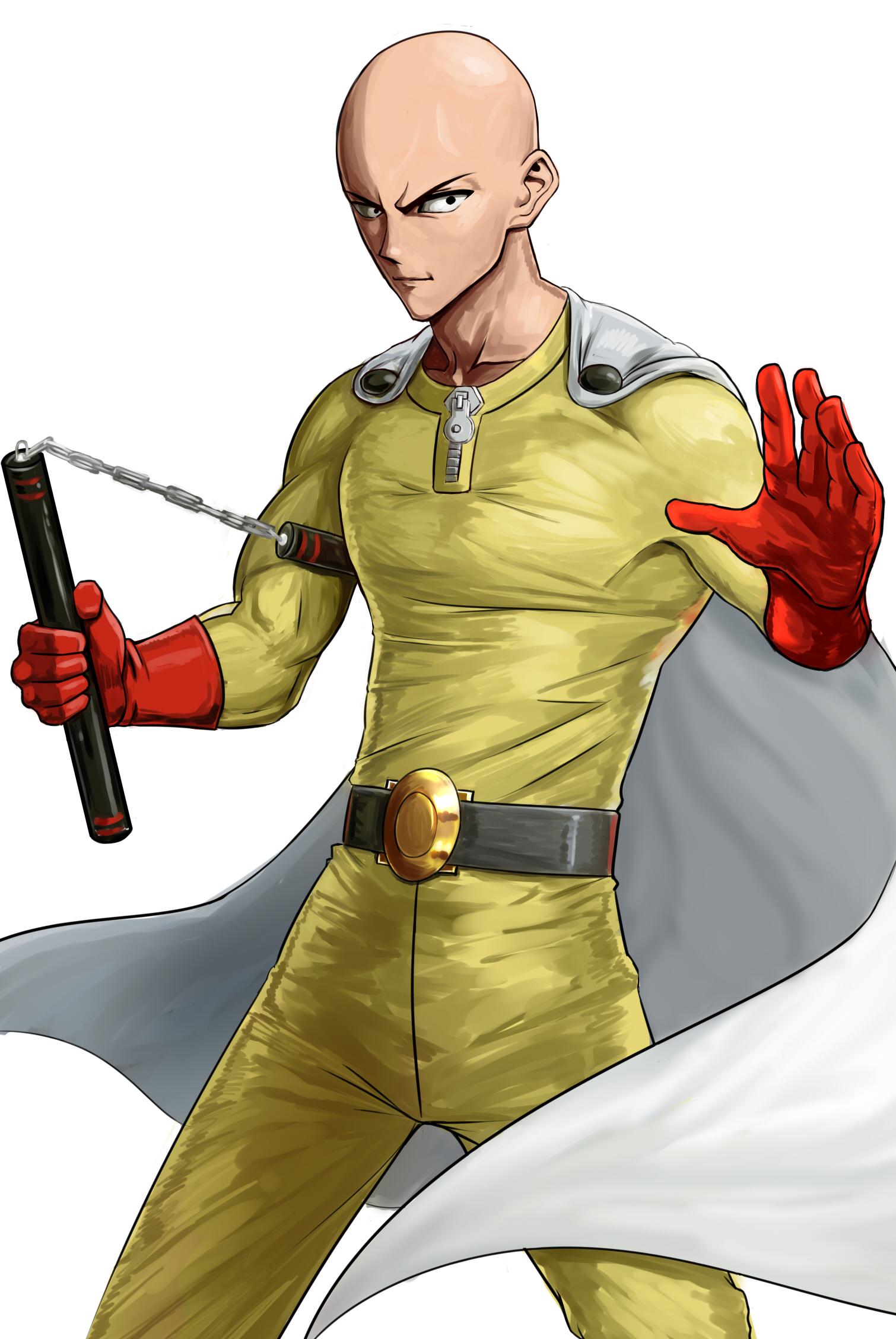 One Punch Man Saitama Lucu - Saitama (One Punch Man) | page 5 of 6 - Zerochan Anime ...
