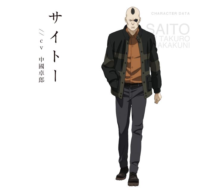 Saito Ghost In The Shell Koukaku Kidoutai Ghost In The Shell Image 1857451 Zerochan Anime Image Board