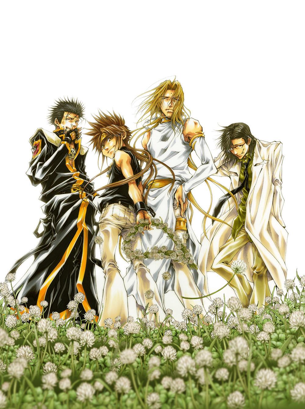 Saiyuki Gaiden Image 2262915 Zerochan Anime Image Board