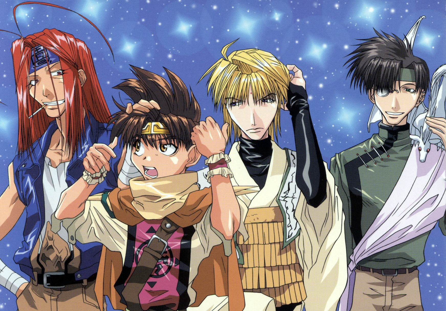 gunlock girls Being a saiyuki addict this was a heavenly score for me i just finished watching it all i can say is epically amazing, loads of action comedy mixed.