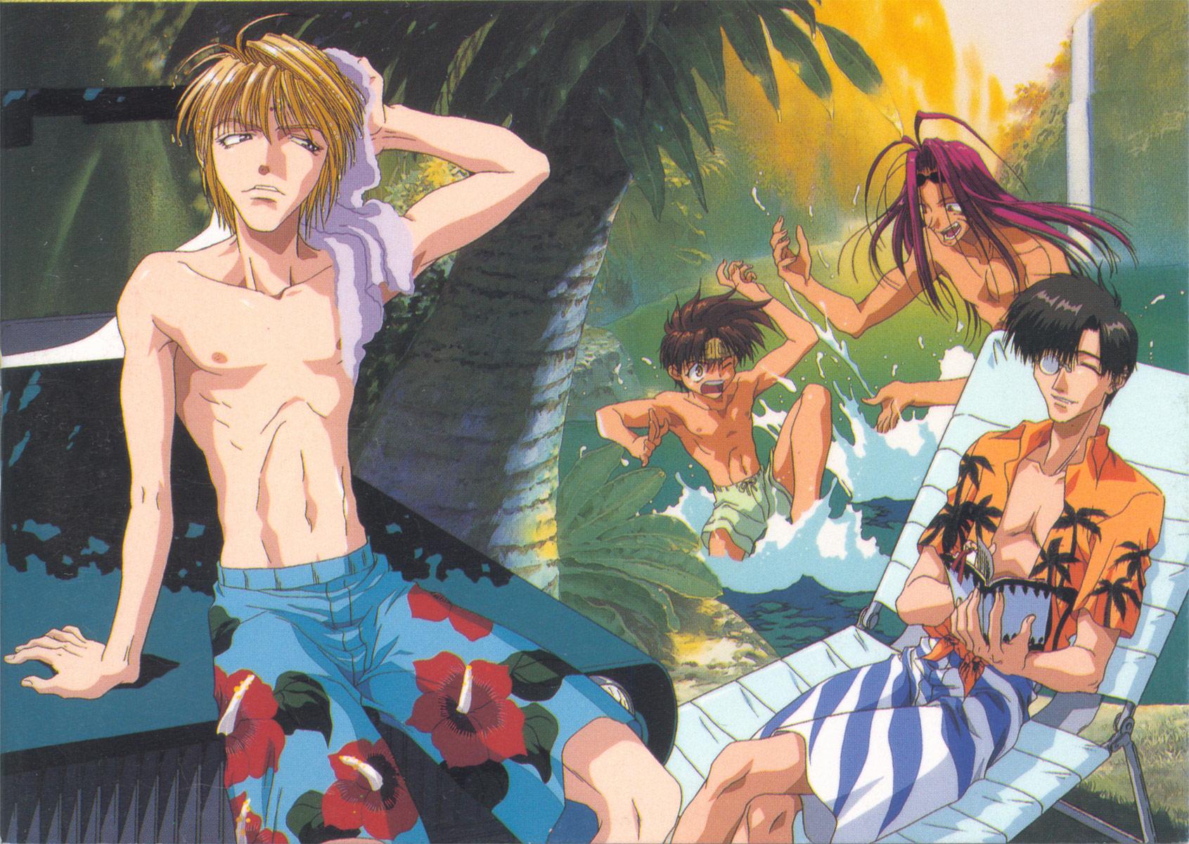 gay saiyuki