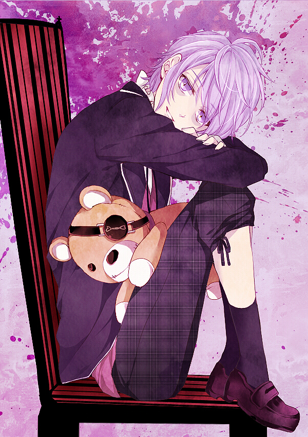 Tags: Anime, Pixiv Id 2954190, IDEA FACTORY, Diabolik Lovers ~Haunted dark bridal~, Sakamaki Kanato, Bags Under Eyes, Fanart, Mobile Wallpaper, Fanart From Pixiv, Pixiv