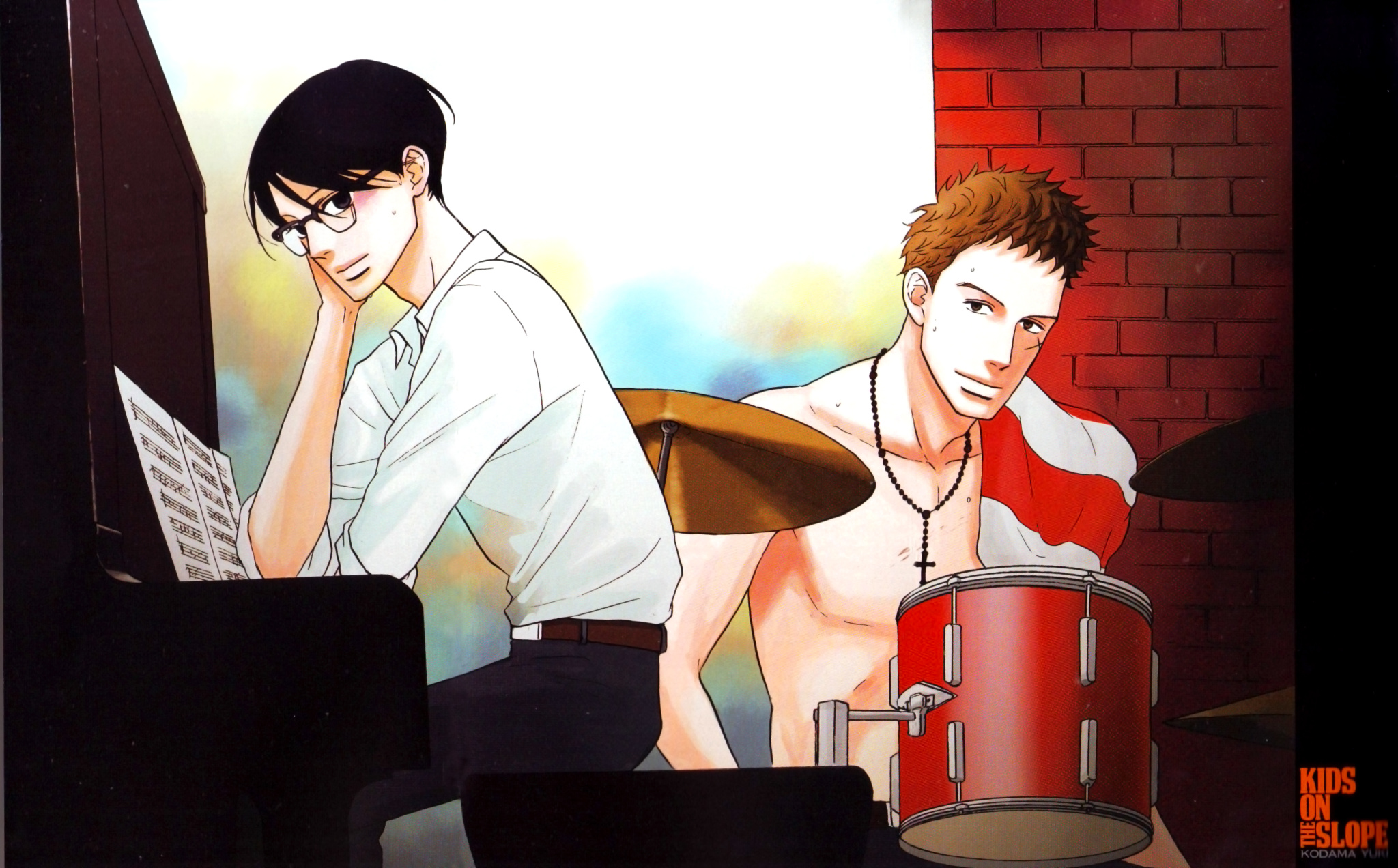 Sakamichi No Apollon Kids On The Slope Wallpaper 1553312