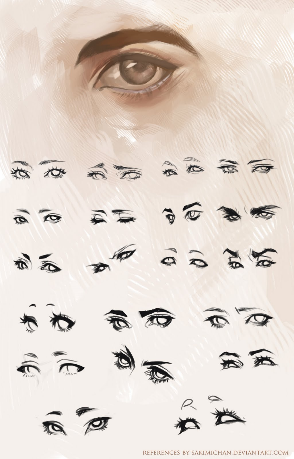 Half Closed Eye Drawing | www.pixshark.com - Images ...