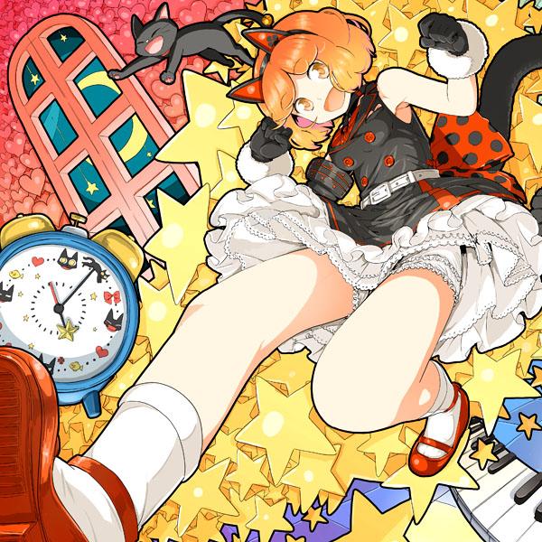 Tags: Anime, Daigoman, VOCALOID, Sakine Meiko, MEIKO (VOCALOID), Piano Keys, Pentagram, Hanging Star, Pixiv, Official Derivatives