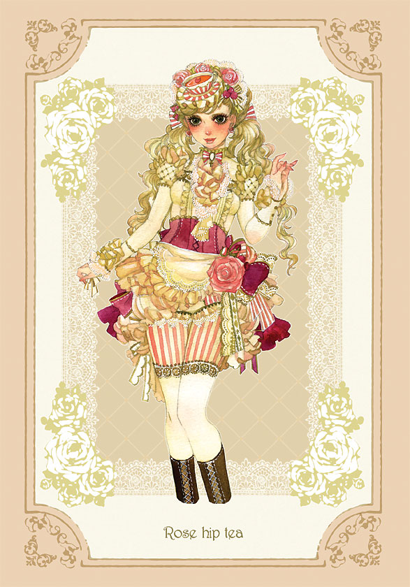 Tags: Anime, Sakizou, Rose Hip Tea, Pixiv, Mobile Wallpaper