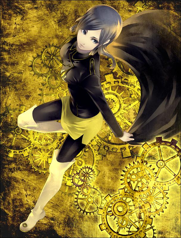 Tags: Anime, Tatsuji, Shin Megami Tensei: Devil Survivor 2, Sako Makoto, Pixiv, Fanart