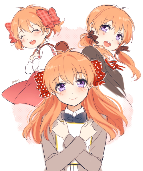 Tags: Anime, mery (dpqpqp550), Gekkan Shoujo Nozaki-kun, Sakura Chiyo, Age Progression, PNG Conversion