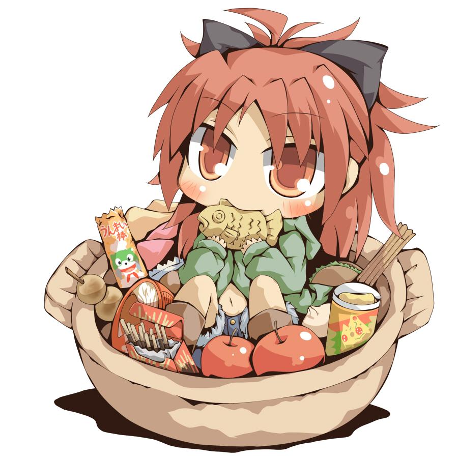 Chibi Eating Food