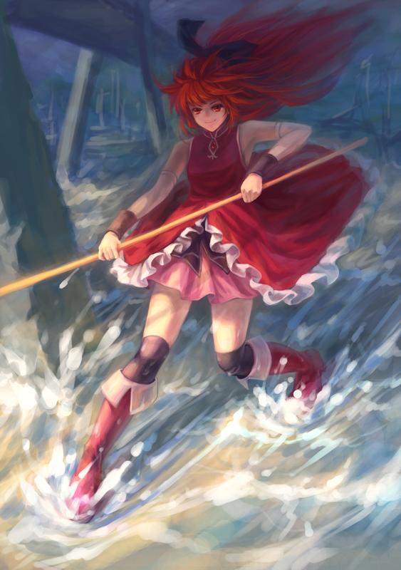 Tags: Anime, Windyakuma, Mahou Shoujo Madoka☆Magica, Sakura Kyouko