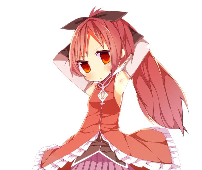 Tags: Anime, Rowtan, Mahou Shoujo Madoka☆Magica, Sakura Kyouko