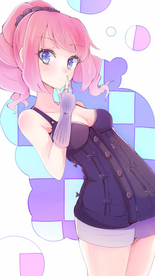 Tags: Anime, Pixiv Id 1689648, Aikatsu Stars!, Sakuraba Laura, PNG Conversion, Mobile Wallpaper, Laura Sakuraba