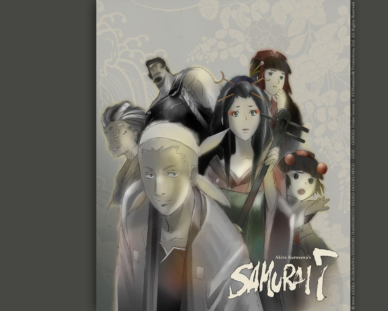 Samurai 7 Anime Characters : Samurai 7 wallpaper #185210 zerochan anime image board