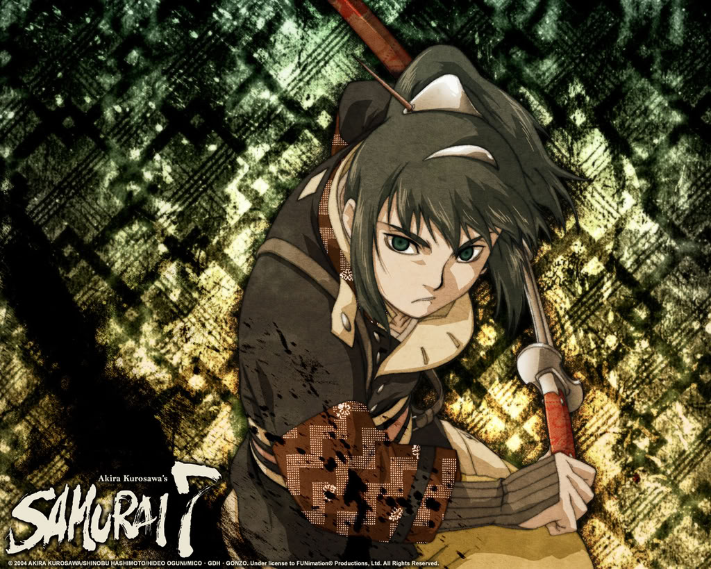 Samurai 7 Anime Characters : Samurai 7 zerochan anime image board