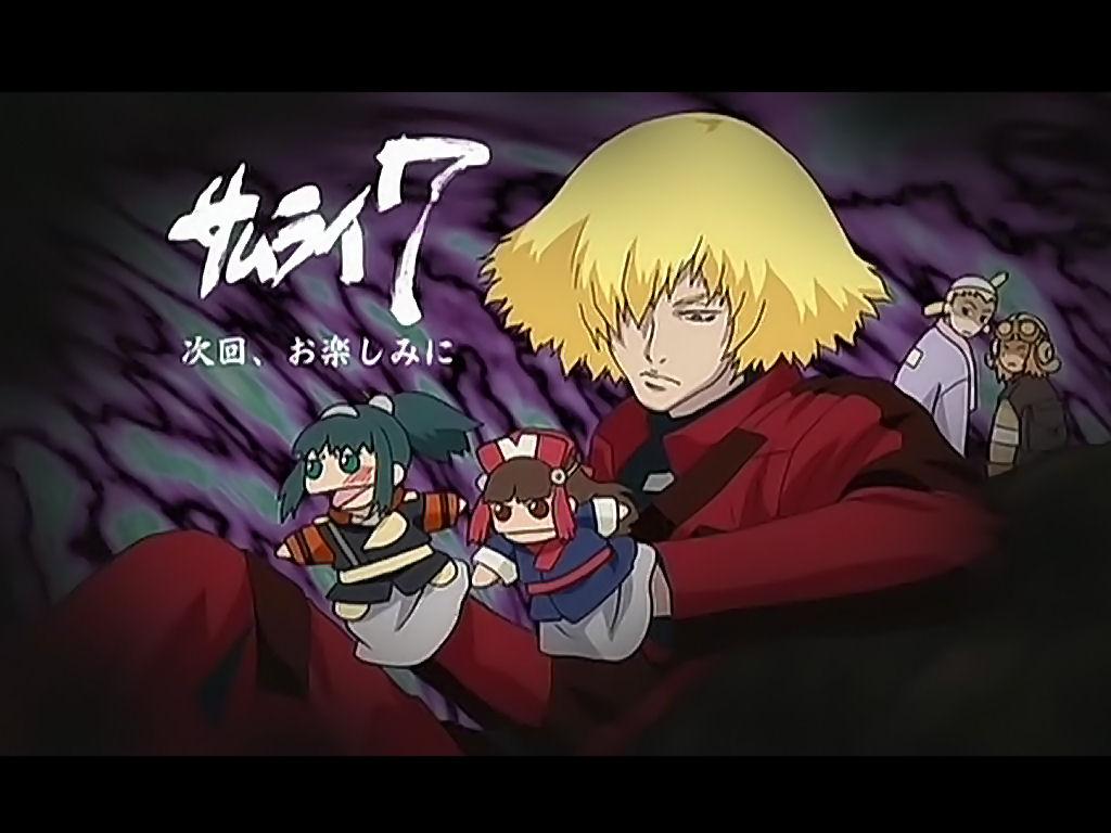 Samurai 7 Anime Characters : Samurai zerochan anime image board