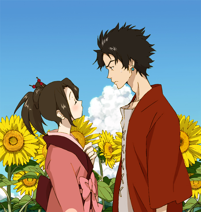 Samurai champloo fuu and mugen