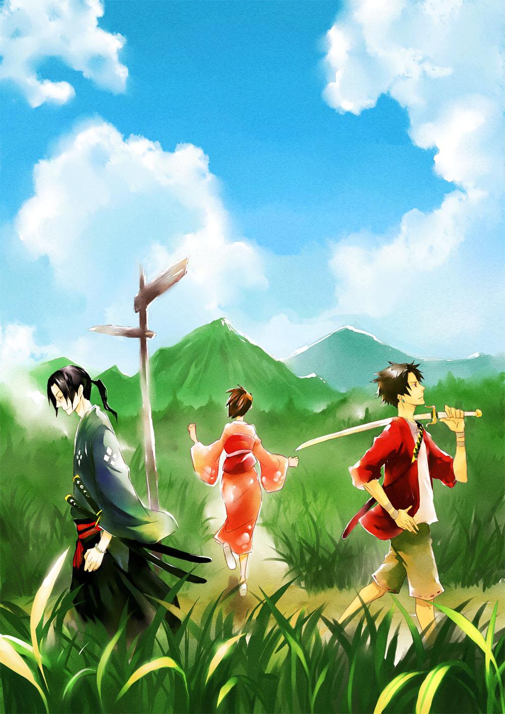 30+ Samurai Champloo Wallpaper  PNG
