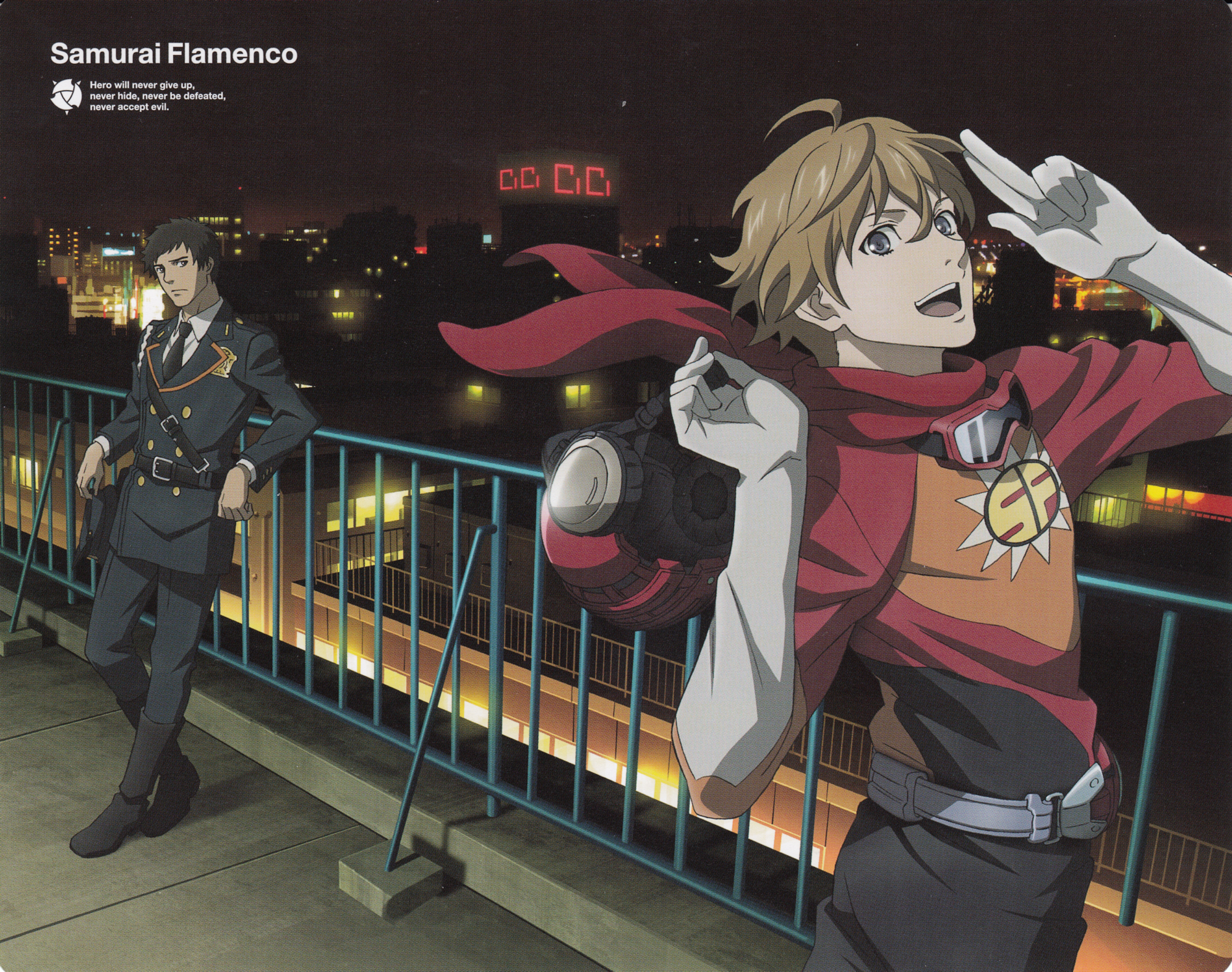 X 23 Cosplay Wallpaper Samurai Flamenco - Zer...