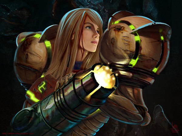 Tags: Anime, Metroid, Samus Aran
