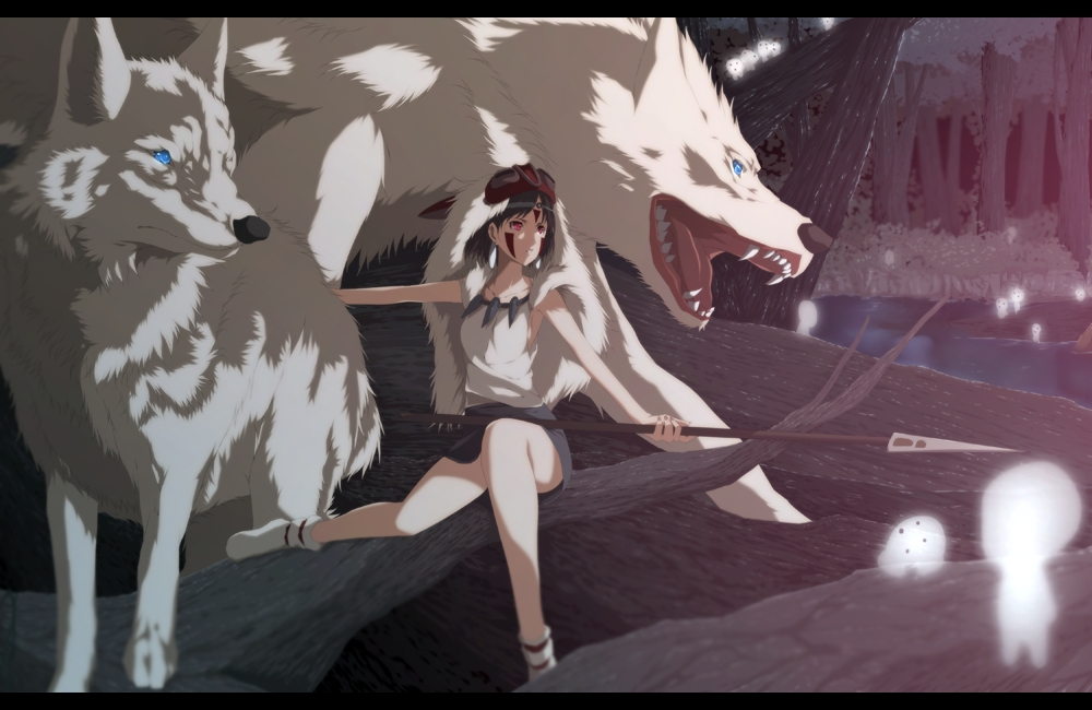 Mononoke Hime Princess Mononoke Necklace Zerochan Anime Image Board