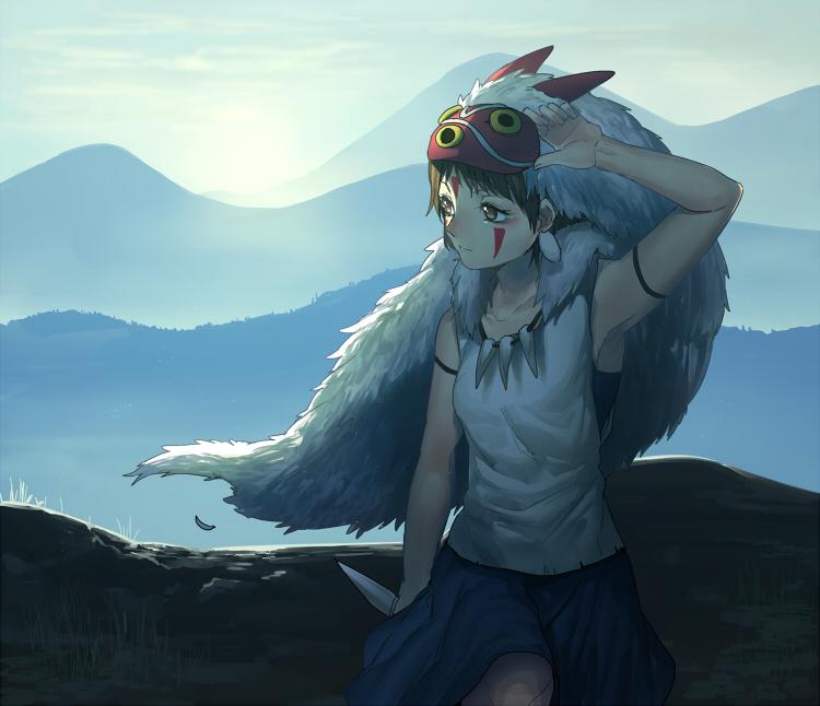 San (Mononoke Hime)/#1429071 - Zerochan