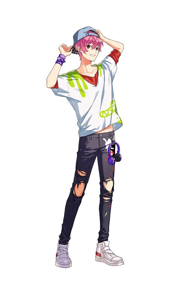 Tags: Anime, Ebira, Readyyy!, Sanada Junnosuke, Official Art