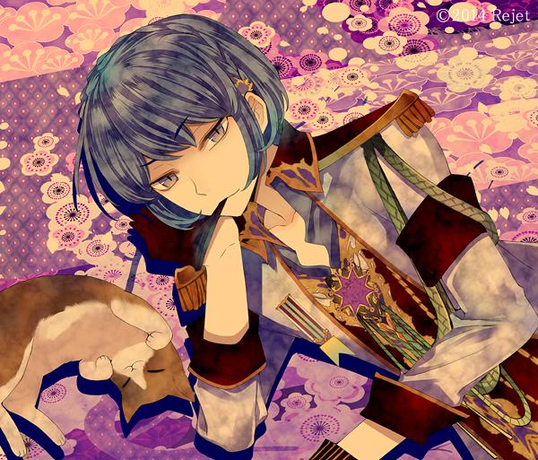 Tags: Anime, Kuroyuki, Rejet, Taishou Guuzou Roman: Teikoku Star, Sanji (Taishou Guuzou Roman), Biting Gloves, Official Art