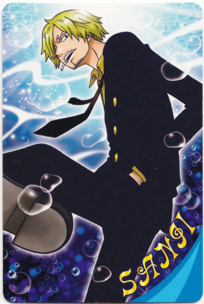 Tags Anime ONE PIECE Sanji Scan Trading Card Source