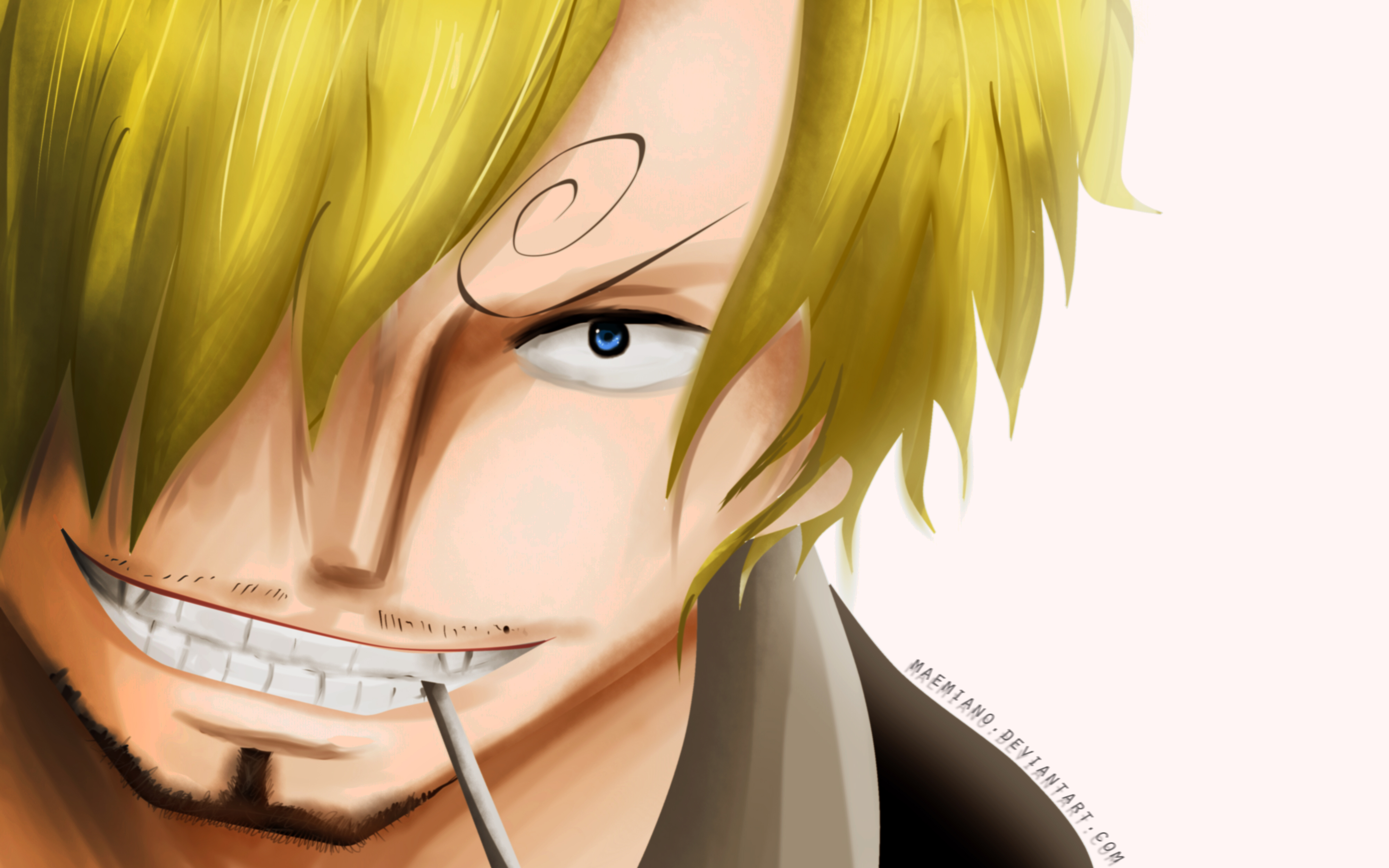 Sanji One Piece Hd Wallpaper 1592569 Zerochan Anime Image Board
