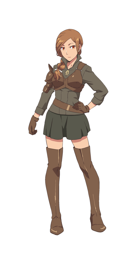 Tags: Anime, Silver Link, Isekai Shokudou, Sarah Gold, Official Art, Cover Image, PNG Conversion, Artist Request
