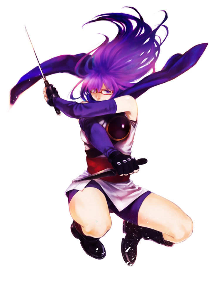 Anime female ninja assassin