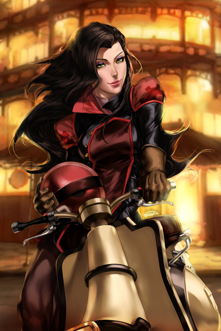 Asami sato avatar the last airbender korra the legend of korra