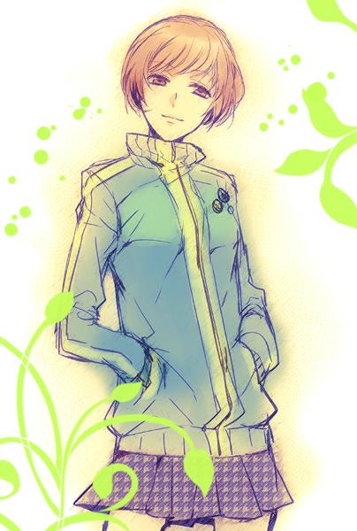 Tags: Anime, Futaba Hazuki, Shin Megami Tensei: PERSONA 4, Satonaka Chie, Fanart