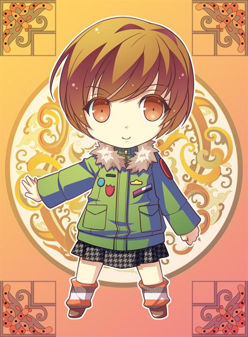 Tags: Anime, Pixiv Id 3648117, Shin Megami Tensei: PERSONA 4, Satonaka Chie, Fanart, Fanart From Pixiv, Pixiv