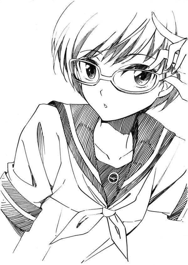 Tags: Anime, Agahari, Shin Megami Tensei: PERSONA 4, Satonaka Chie, Sketch, Mobile Wallpaper