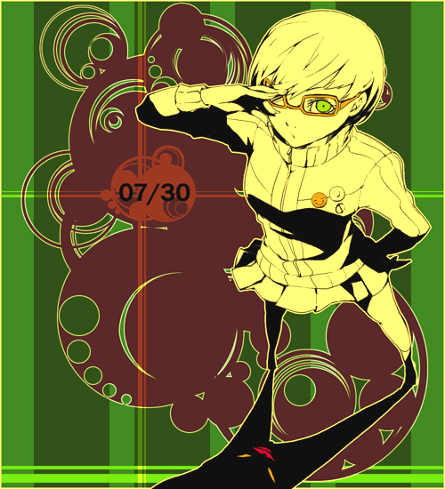 Tags: Anime, 35 (Artist), Shin Megami Tensei: PERSONA 4, Satonaka Chie