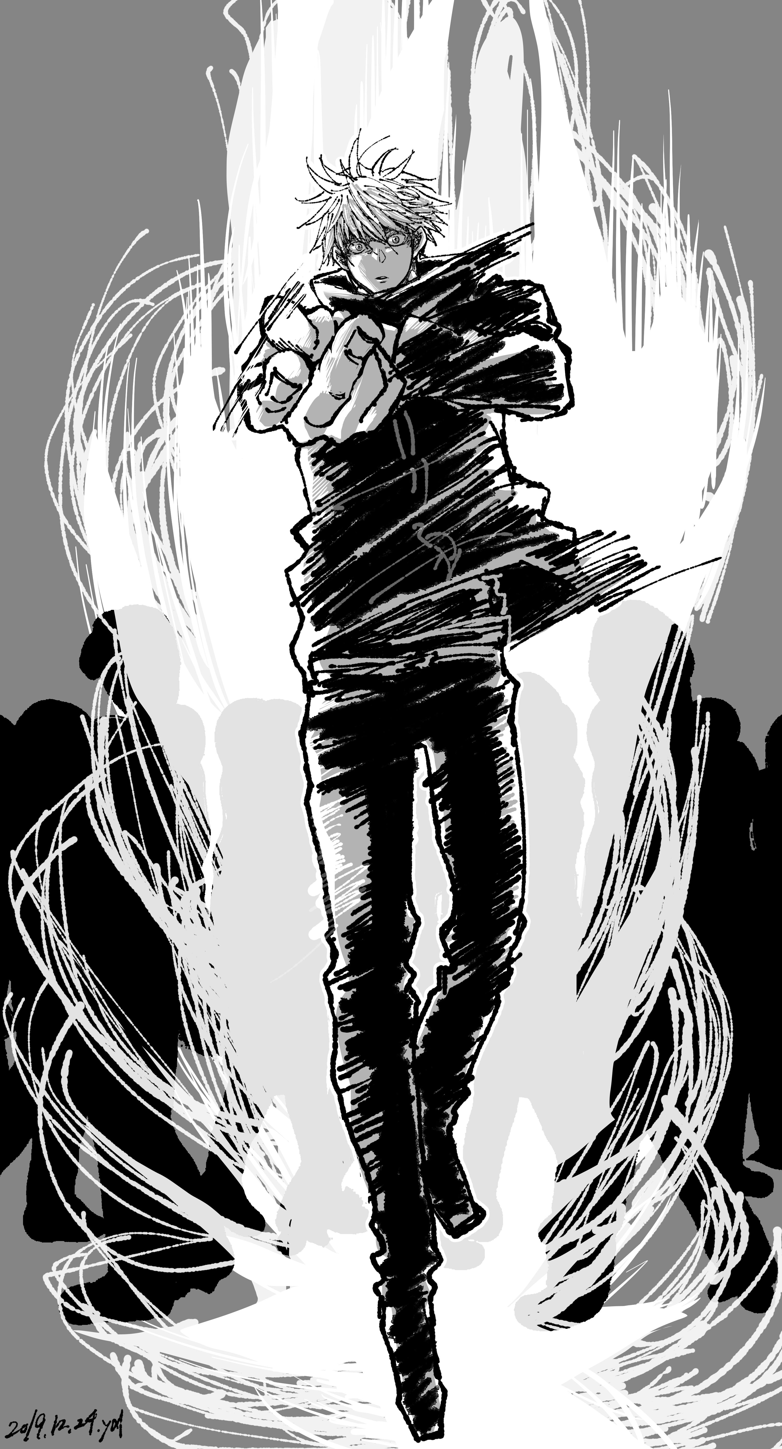 Satoru Gojou Jujutsu Kaisen Image 2860096 Zerochan Anime Image Board
