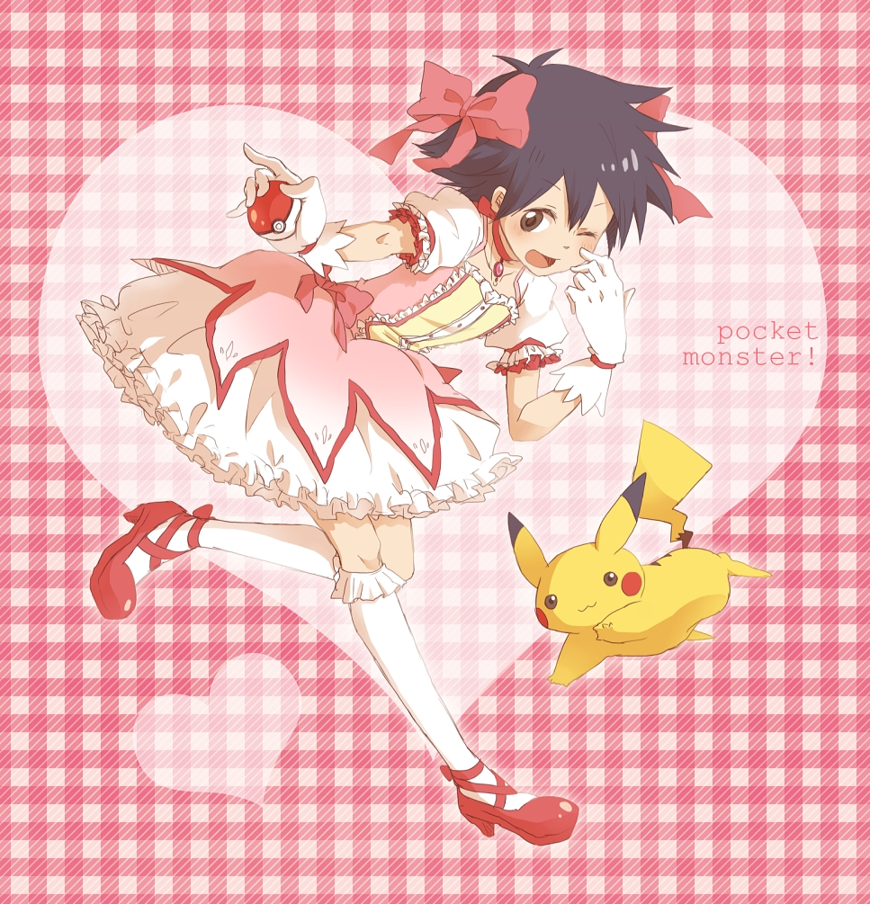 Satoshi Pok 233 Mon Ash Ketchum Pok 233 Mon Anime Image 1582049 Zerochan Anime Image Board