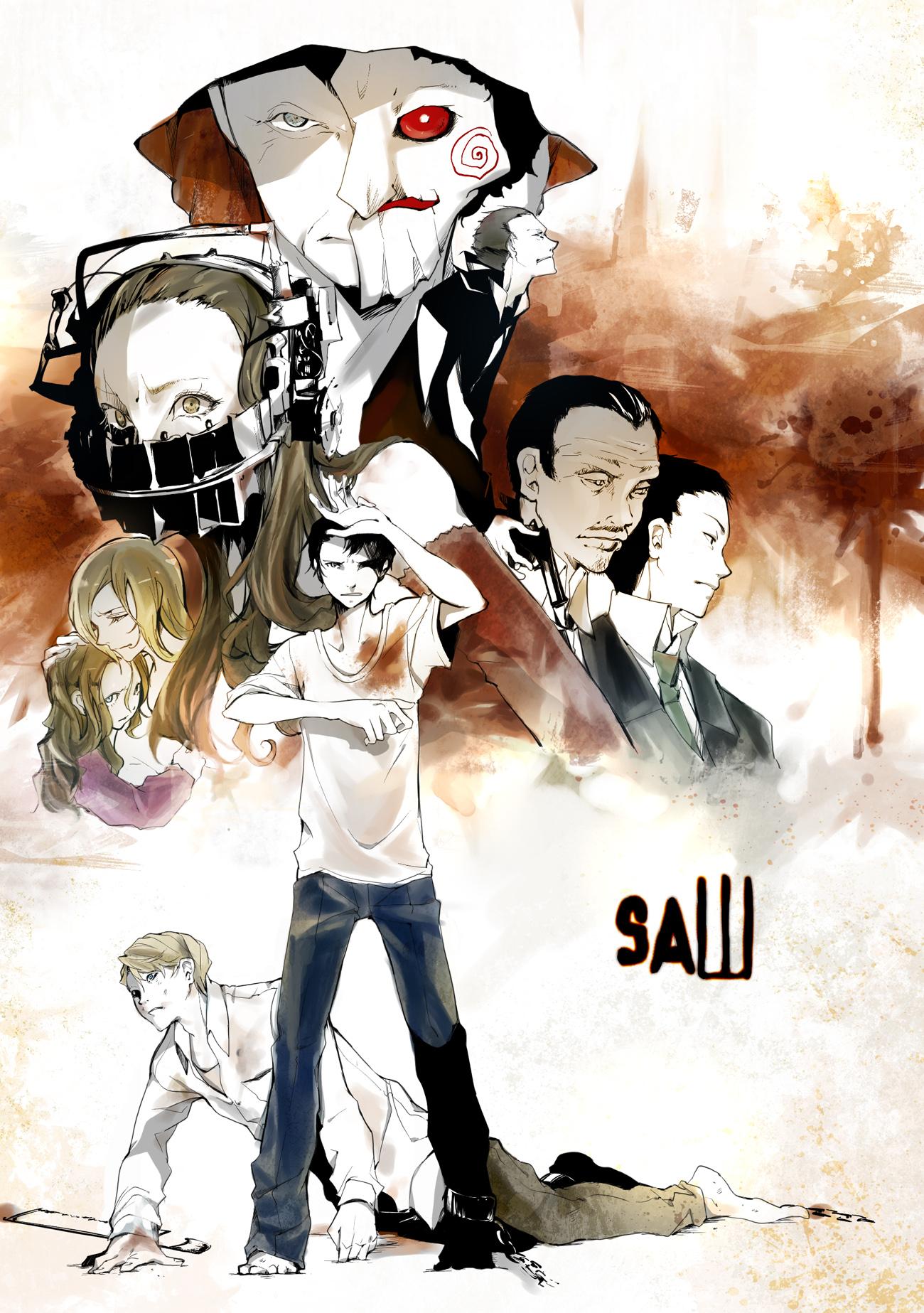 John Kramer (Jigsaw) - Saw (Movie) - Zerochan Anime Image Board
