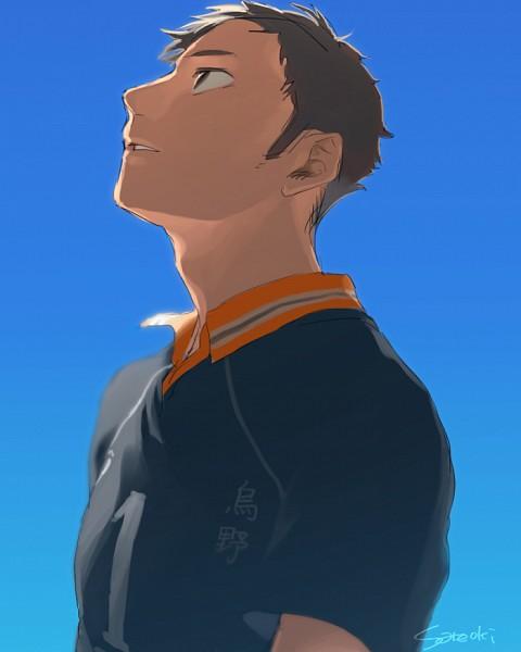 Tags: Anime, Pixiv Id 5940101, Haikyuu!!, Sawamura Daichi, Volleyball Uniform, Volleyball Uniform (Karasuno High)