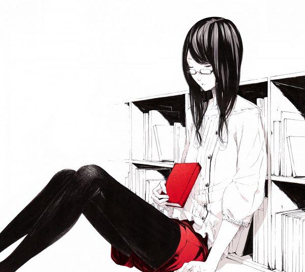 Tags: Anime, Sawasawa, Spot Color, Bookshelf