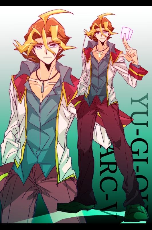 Tags: Anime, Sukaaha, Yu-Gi-Oh! ARC-V, Yu-Gi-Oh!, Sawatari Shingo, Fanart From Pixiv, Pixiv, Fanart, Silvio Sawatari