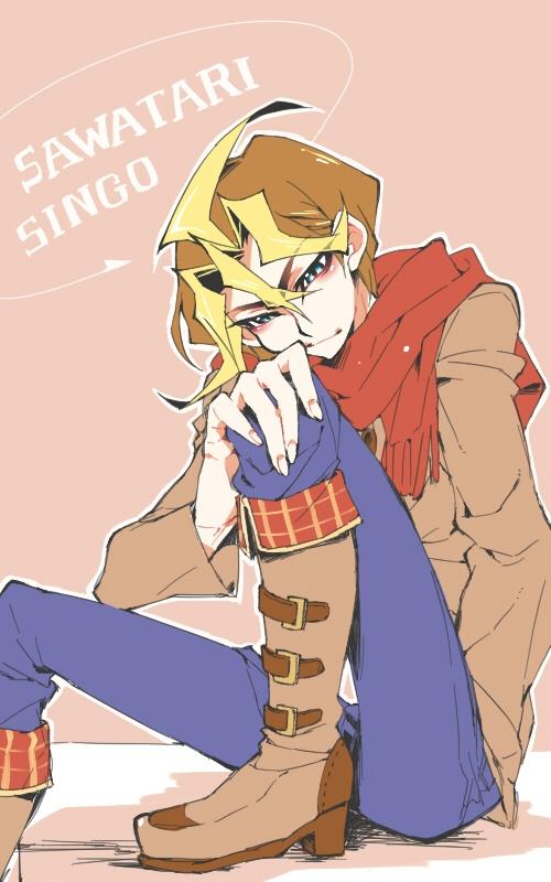Tags: Anime, Four-kunn, Yu-Gi-Oh!, Yu-Gi-Oh! ARC-V, Sawatari Shingo, Pixiv, Fanart, Fanart From Pixiv, Mobile Wallpaper, Silvio Sawatari